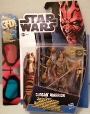 Star Wars Movie Heroes Gungan Warrior 5 Of 12. By Hasbro 2012. 3D GLASSES RARE