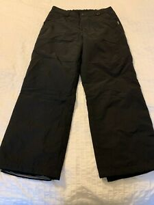 Obermeyer Snow Ski Pants ~Men ~Medium ~Black ~Hydro Block ~NWOT