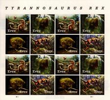 USA 2019 5410-5413 Forever Tyrannosaurus Rex - Sheet of 16  Dinosaur T.REX MNH