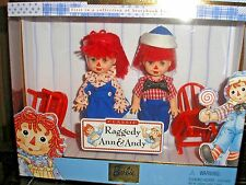 1999 Mattel Barbie'S Kelly &Tommy As *Raggedy Ann & Andy* #24639 Nrfb