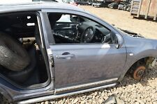 2007 NISSAN QASHQAI J10 DRIVERS SIDE RIGHT HAND FRONT DOOR - FADED DENIM (B52)