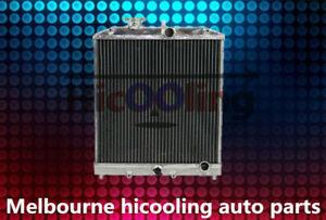 Aluminum radiator for Honda CIVIC EG EK B16 B18 D15 D16 1992-2000 28mm in/outlet