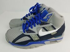 Nike Air Trainer SC High Grey Royal Blue Men's Size 6 Men's Teen Near Mint Bo