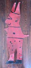 R.A. Miller Devil Tin Outsider Folk Art