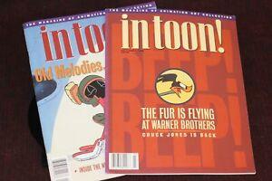 In Toon! Magazine CHUCK JONES Lot of 2 Animation Art Collectors Editions 1994 96