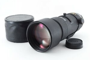 Nikon AF nikkor 300mm F/4 IF ED Telephoto Lens w/Hood from JAPAN [Exc++] #785676