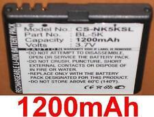Batería 1200mAh tipo BL-5K Para Nokia 701