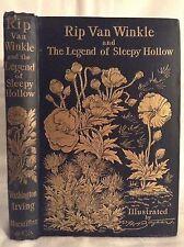 1893 RIP VAN WINKLE & THE LEGEND OF SLEEPY HOLLOW. Classic Revolutionary War