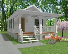 Custom Tiny House Home Building Plan 1 bed Cottage 432sf---PDF FULL PERMIT SET