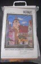 Bernat Bavarian Village Exclusive Decorator Stitchery S9079 NEW Kit Crewel?