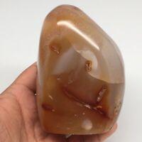 """764g,3.9""""x2.8""""x2.5"""" Natural Agate Crystal Gemstone Polished @Madagascar,MSP897"""