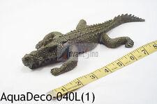 """10"""" Realistic Crocodile Bubble Decoration/Ornament For Aquarium (Ship from USA)"""