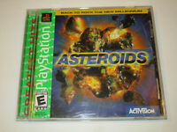 Asteroids  for PS1 With Manual in Very Good condition Free Shipping