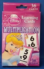 MATH Flash Cards DISNEY PRINCESS - Multiplication