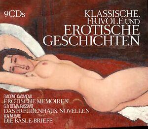 Hörbuch Frivole und Erotische Geschichten von Various 9CDs