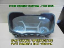 FORD TRANSIT CUSTOM SPEEDOMETER / DASH CLOCKS - FITS VANS 2013+ BK2T-10849-HC