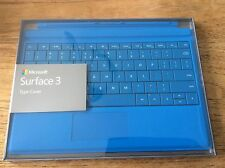 OFFICIAL MICROSOFT SURFACE 3 TYPE COVER BRIGHT BLUE BRAND NEW UK QWERTY KEYBOARD