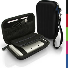 Black Hard Case Cover for New Nintendo 3DS XL 3DSXL 2DS XL 2DSXL Sleeve Pouch