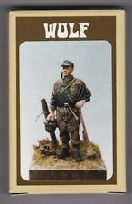 WOLF HORNET MODELS WAW 06 - GERMAN SOLDIER IN ZELTBAHN WW2 - 1/35 RESIN KIT
