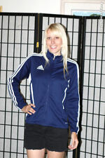 US Soccer Youth Stuttgart Select Warmup Jacket - adidas, blue - Youth Large
