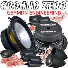 Ground Zero Gzrc 130AL-IV 13cm 2 Voies Compo Haut-Parleur Kit 130mm Incl. Grille