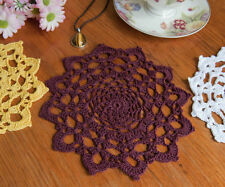 Unbranded Purple Crocheted Doilies