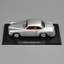 1:24th Whitebox Alfa Romeo 1900 Sprint(1951) Diecast Car Alloy Vehicle Model Toy