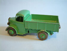 DINKY Meccano England original 1954 1st issue BEDFORD TRUCK 25W all mid green