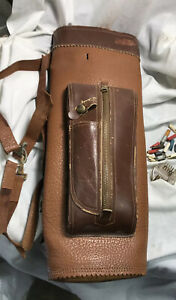 Vintage Leather Archery Quiver Bag