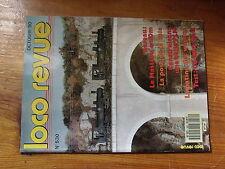 $$y Loco Revue N°530 Mastrou  Pose de la voie  Halle PLM  Patine wagons  CC 1100