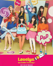 LOVELYZ 2nd Album [R U Ready?] CD+ Booklet +10p Postcard + 2 Photocard