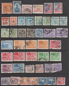 1949 China LA group of 108 stamps used.