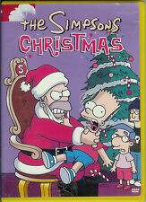 """DVD VIDEO """"THE SIMPSONS CHRISTMAS"""" FIVE (5) EPISODES 2003"""