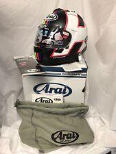ARAI RX7-V Haslam Helmet Size MEDIUM