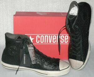 Converse 156727C CTAS Hi J. VARVATOS Snake Leder Schuhe Sneaker Boots 46,5 Black
