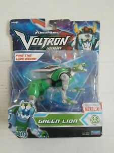 New Voltron Legendary Defender Green Lion Basic Action Figure Vhtf Netflix Edit