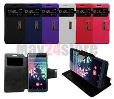 Funda soporte libro ventana Sony Xperia XZ2 + protector cristal opcional