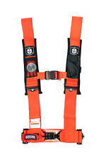 "Pro Armor Seat Belt Harness 4 Point 3"" Orange Can Am Defender Maverick X3 All"