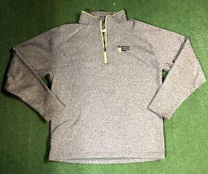 Sun Mountain Thermal Wear 1/4 Zip Long Sleeve Pullover Mens Large Souhegan Woods