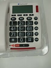 ClearSounds Talk500 Talking Amplified Phone Big Button Keypad Hearing Impaired