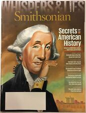 "Smithsonian Magazine ""Whispers & Lies"" Nov 2015 Secrets Of American History"