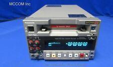 Panasonic AJ-HD130DC DVCPRO HD Recorder w/ 855 tape hrs AS IS