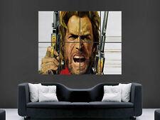 Clint Eastwood REVOLVER COLT Film Muro Gigante Poster ART PICTURE PRINT Grande