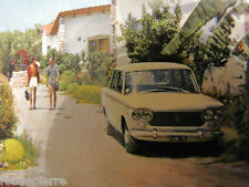 Cartolina complesso turistico la Silvanetta Milazzo Fiat 1500 berlina del 1961