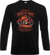 Camisetas de hombre de manga larga B&C