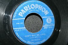 """The Beatles - You Can't Do That / Can't Buy Me Love 7"""" 45 VG Italian Press Pa..."""