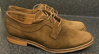 Viceroy UK 9 / 43 Brown Suede Oxford Style Shoes Smart Event Gibson J Shoes