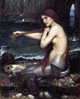 Print - A Mermaid by John William Waterhouse 1900