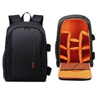 Outdoor Portable Multifunction DSLR SLR Camera Bag Laptop Backpack Case Travel