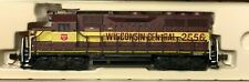 ATLAS N scale ~WISCONSIN CENTRAL GP-35   Locomotive #2556 PAINTED